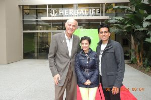 with Dr Steve Henig, (Chief Scientific Officer, Herbalife)