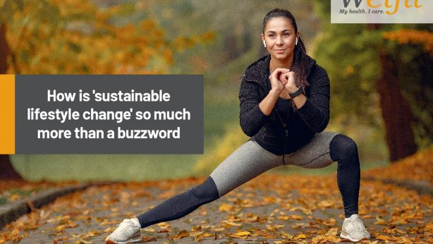 How is 'sustainable lifestyle change' so much more than a buzzword