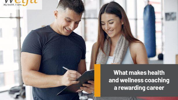 Health and Wellness coaching a rewarding career