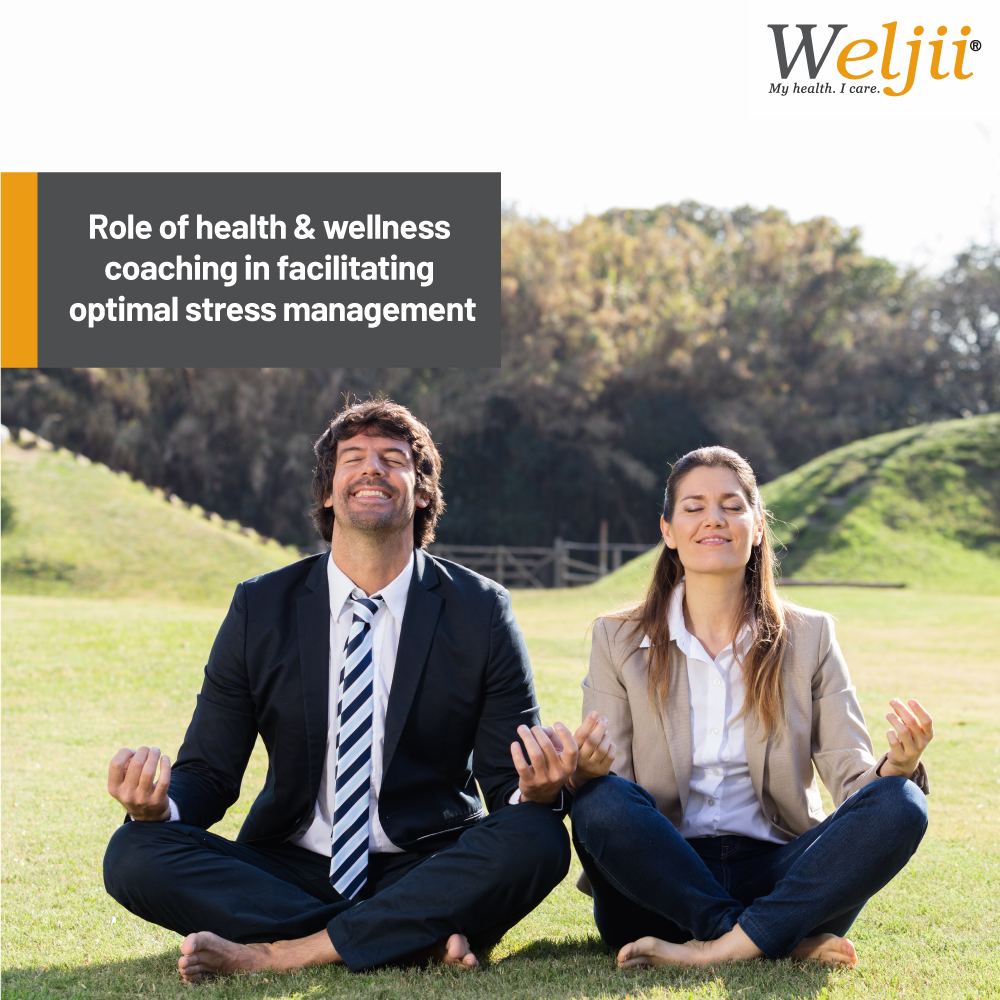 Role of health & wellness coaching in facilitating optimal stress management