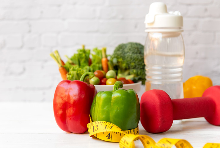 Changes in your diet that will help you get fit