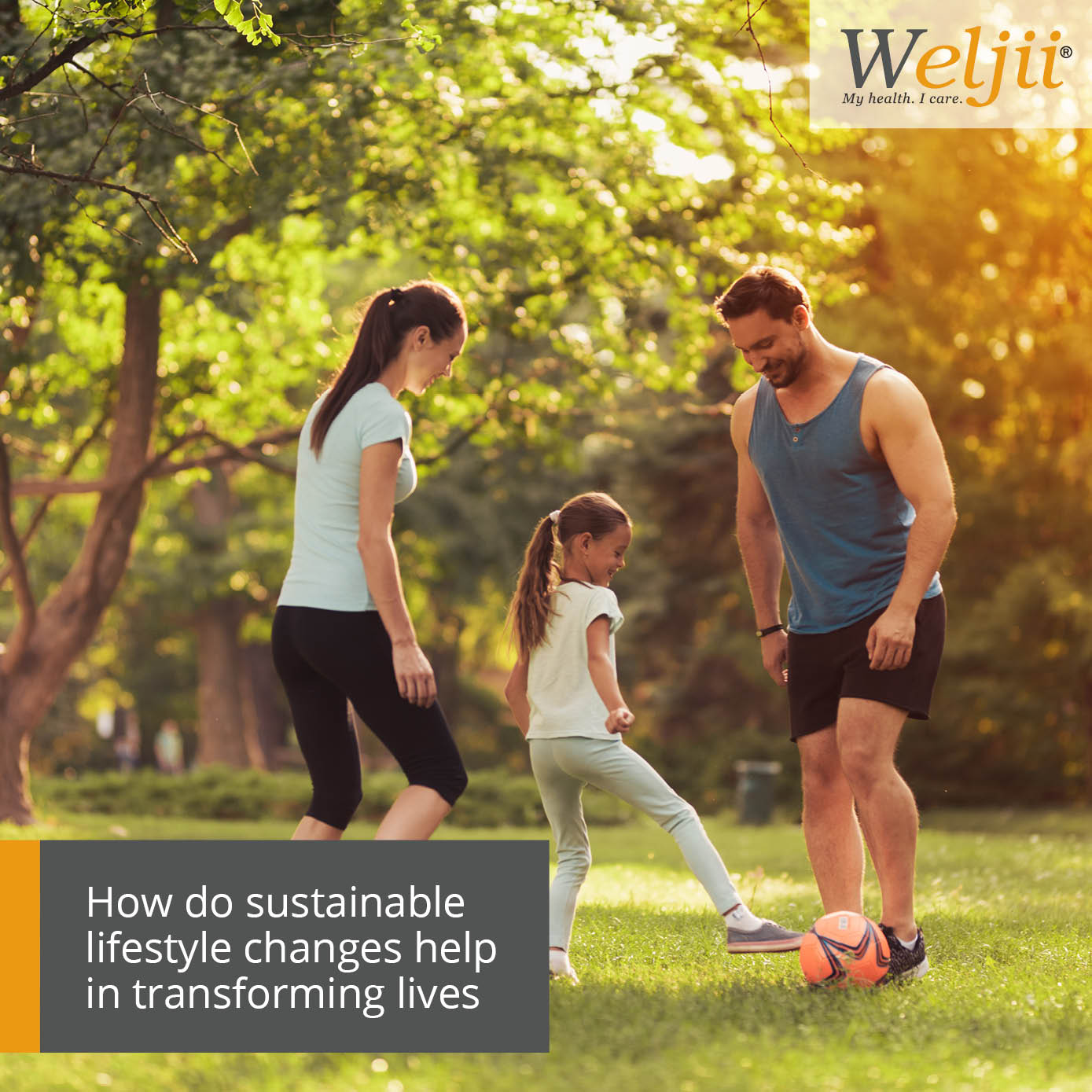 How do sustainable lifestyle changes help in transforming lives