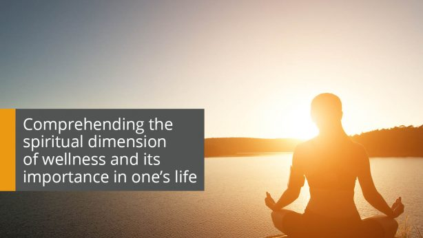 spiritual dimension of wellness and its importance in one's life